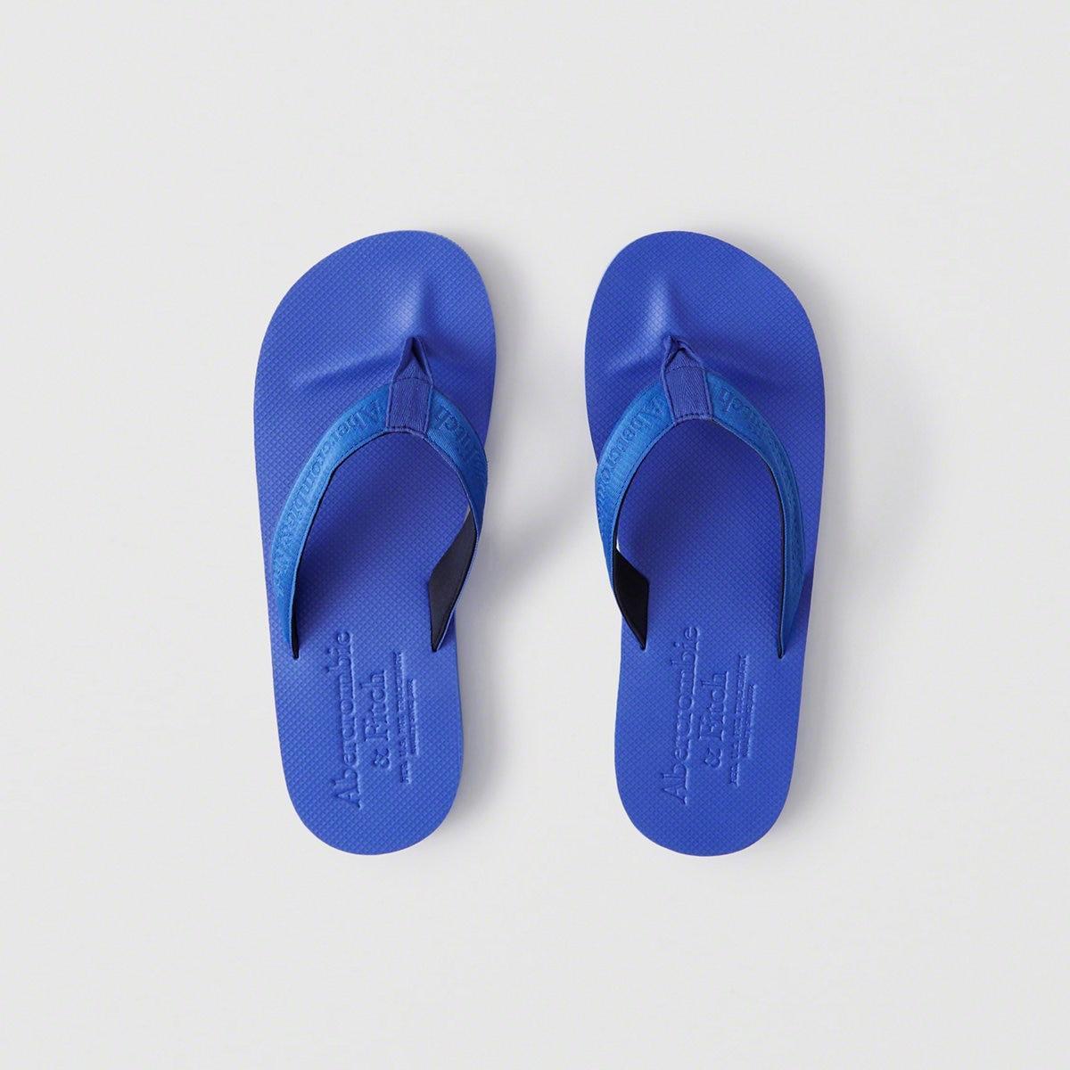 0b2122dac5ae0e Lyst - Abercrombie   Fitch A f Flip Flops in Blue for Men