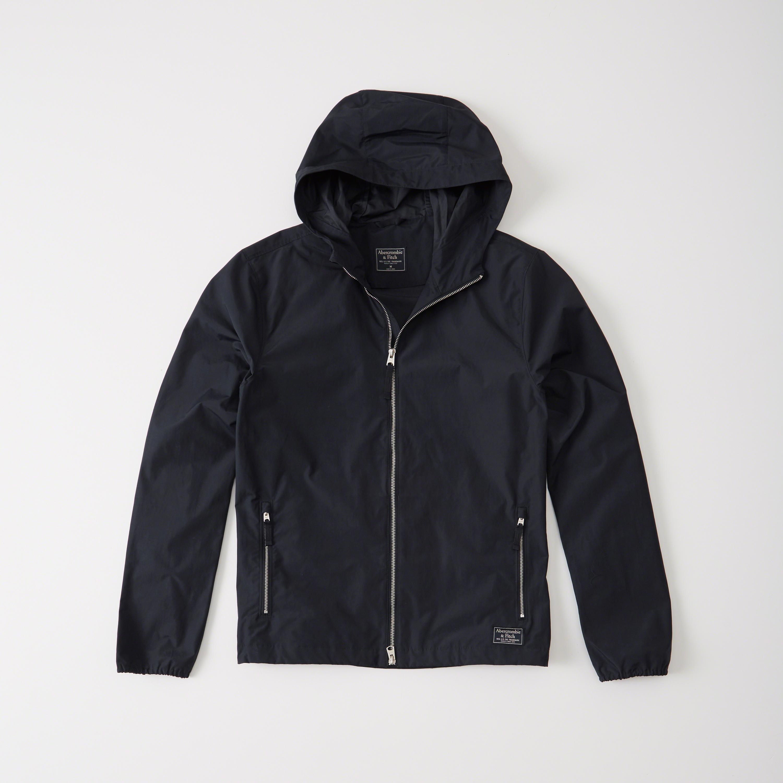 Abercrombie & Fitch Windbreaker Jacket In Blue For Men