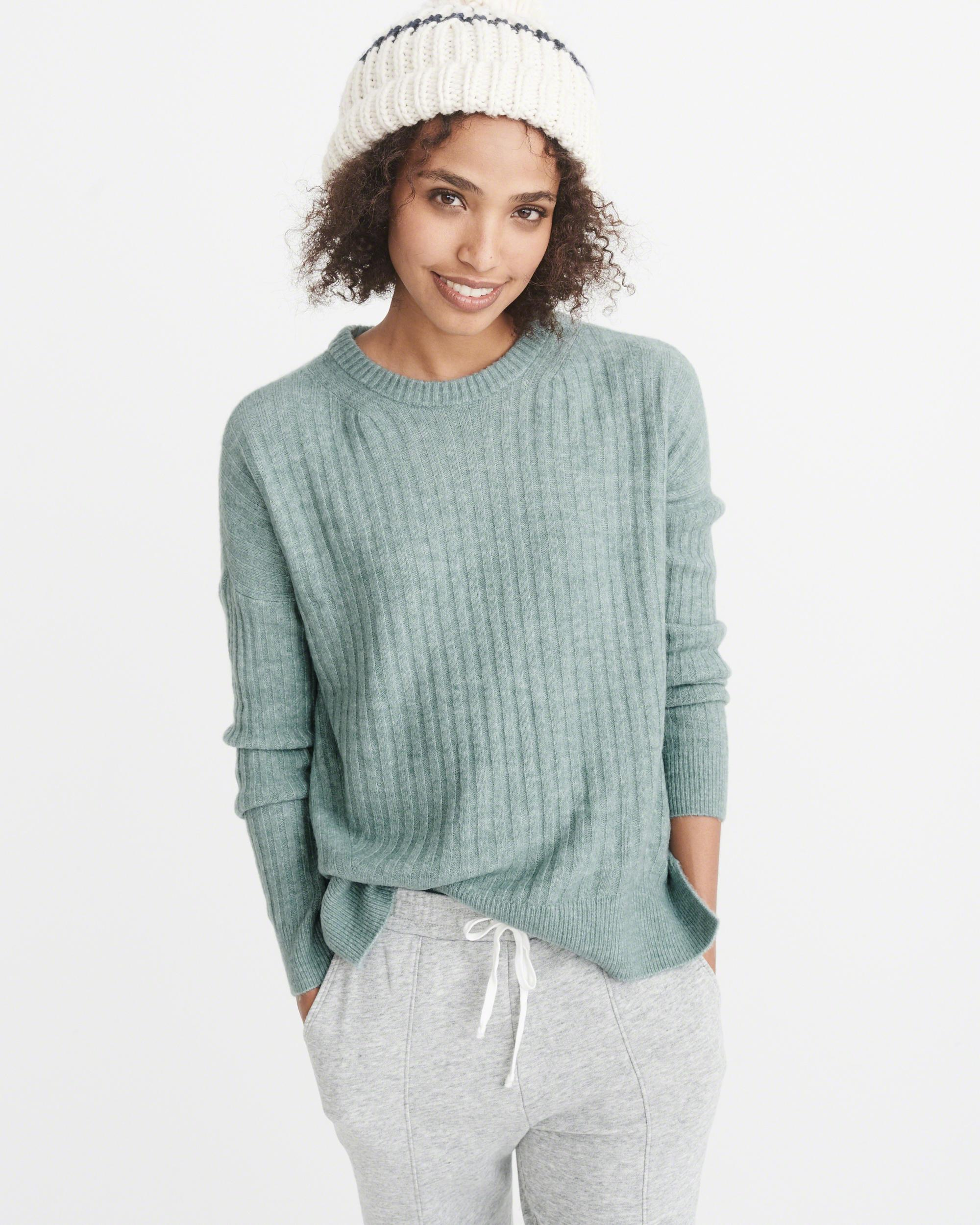 Abercrombie & fitch Ribbed Pullover Sweater Exchange Color / Size ...