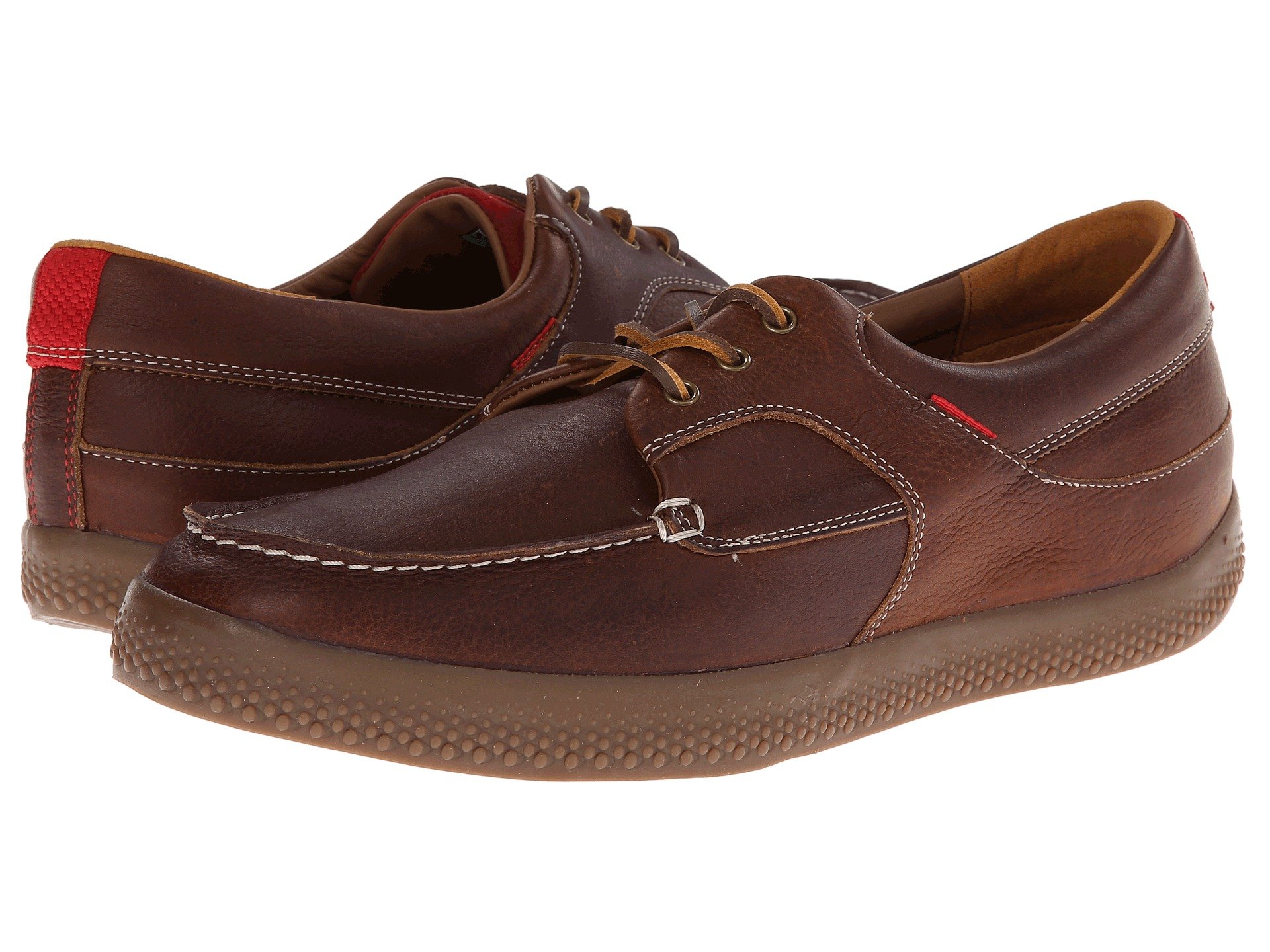 962b09d2c868ee Lyst - Fitflop Monty Boat Moc (Leather) in Brown for Men