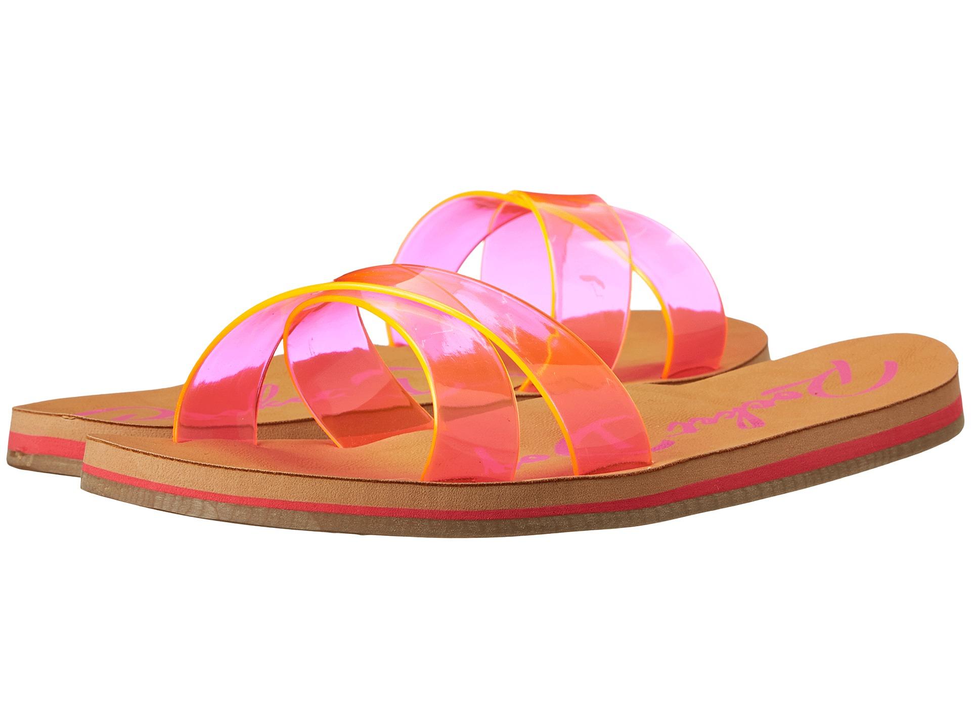 Womens Sandals Rocket Dog Pascal Pink Gummy Bear