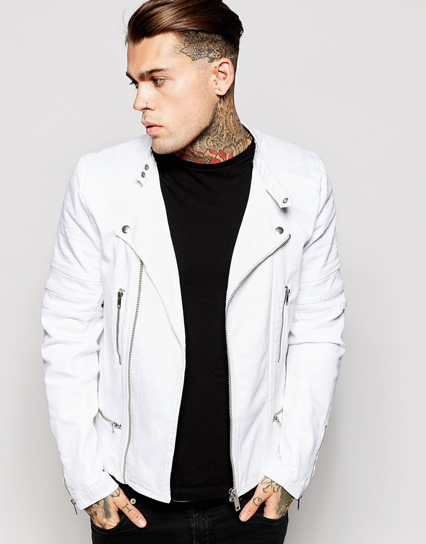 Find great deals on eBay for mens white denim jacket. Shop with confidence.