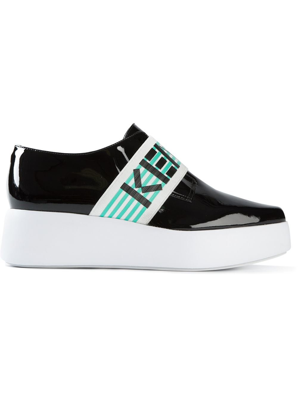 Awesome  Kenzo Cotton Espadrilles With Logo Black Shoes Women Shoes Women
