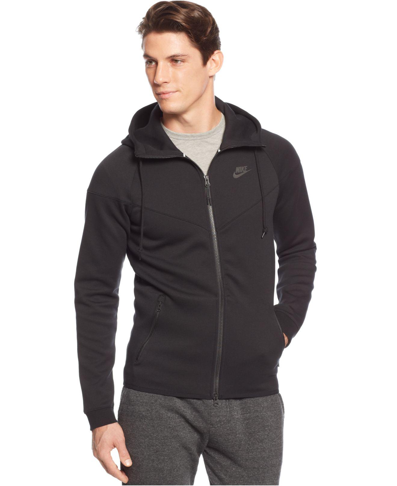 0d5cb8d0b8ac Lyst - Nike Men s Windrunner Fleece Performance Full-zip Hoodie in ...