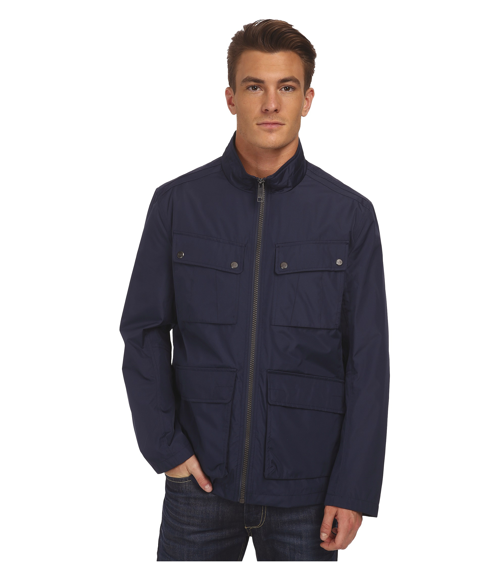 Blue field jacket Rains Free Shipping Best Wholesale Purchase Cheap Outlet In China Outlet Clearance Store Yv2wG9A