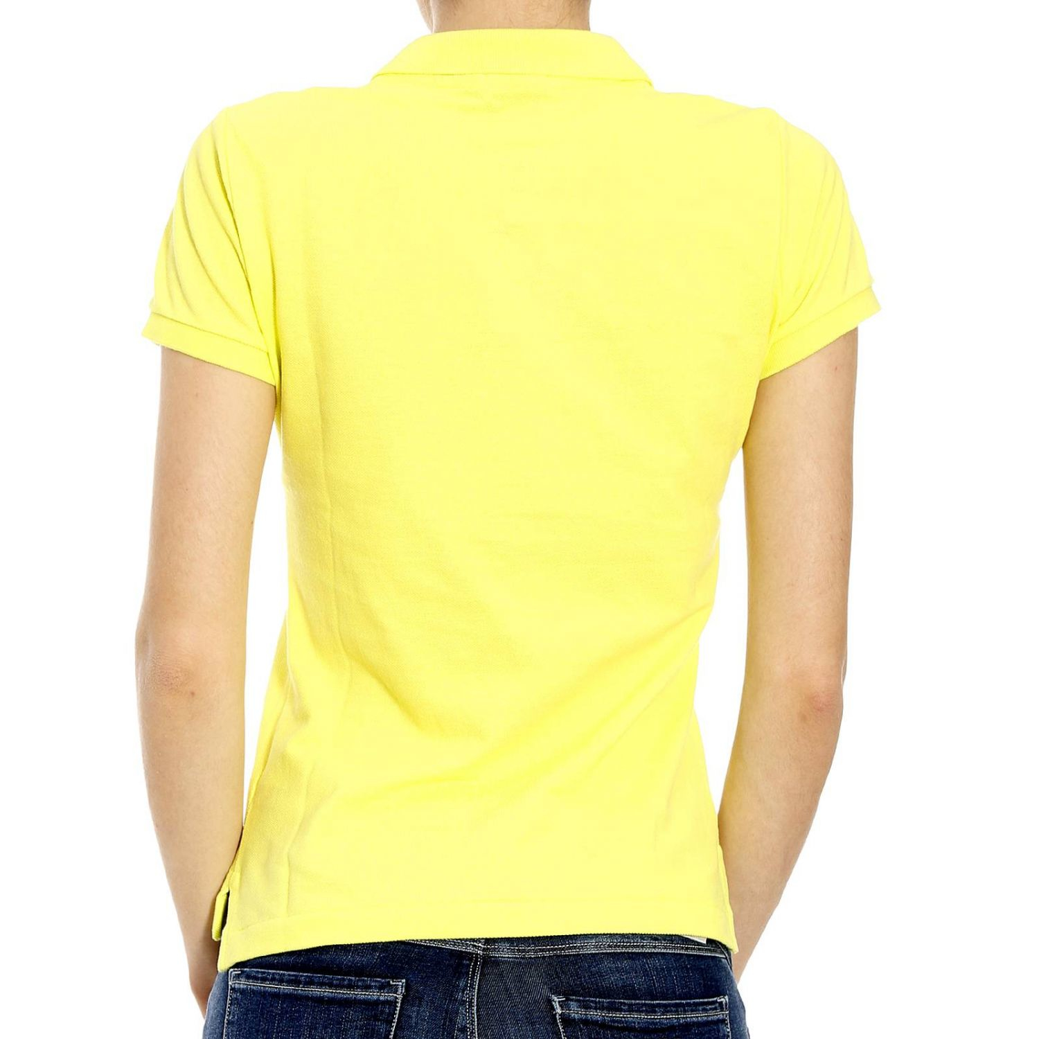 polo ralph lauren t shirt in yellow lyst. Black Bedroom Furniture Sets. Home Design Ideas