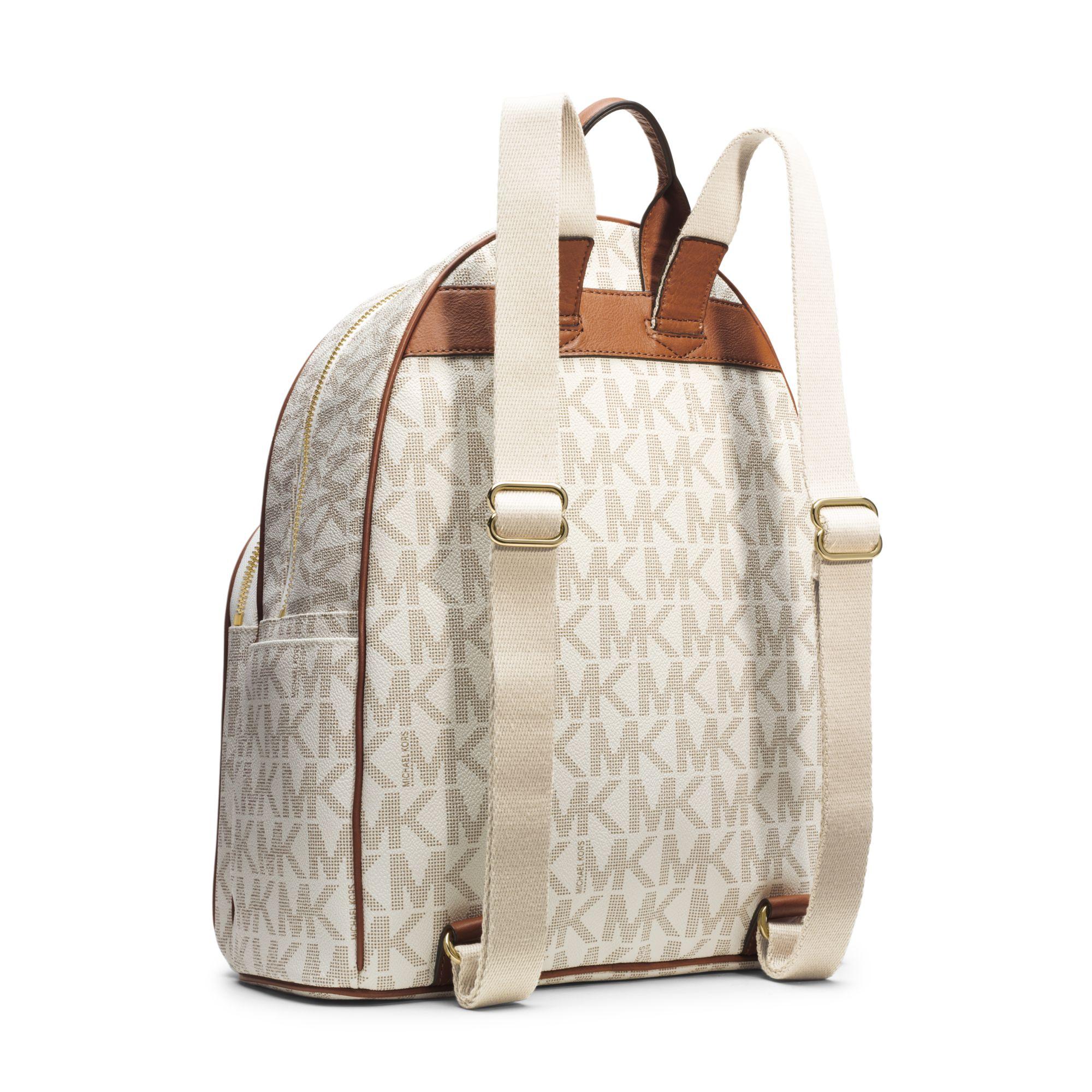 3c0dc5ca87a066 michael kors backpack brown jetset canvas tan bag house of fraser ...