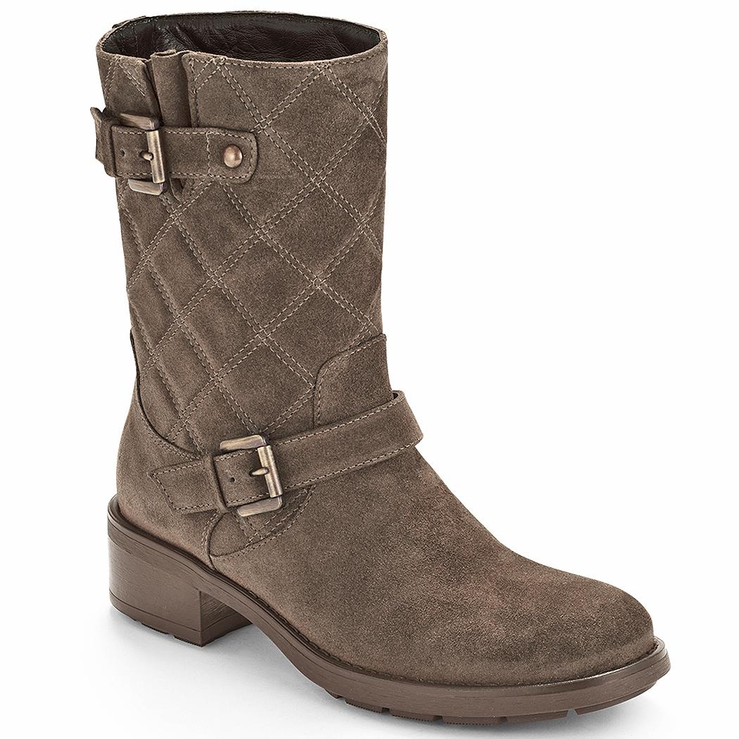 aquatalia quilted boot in lyst