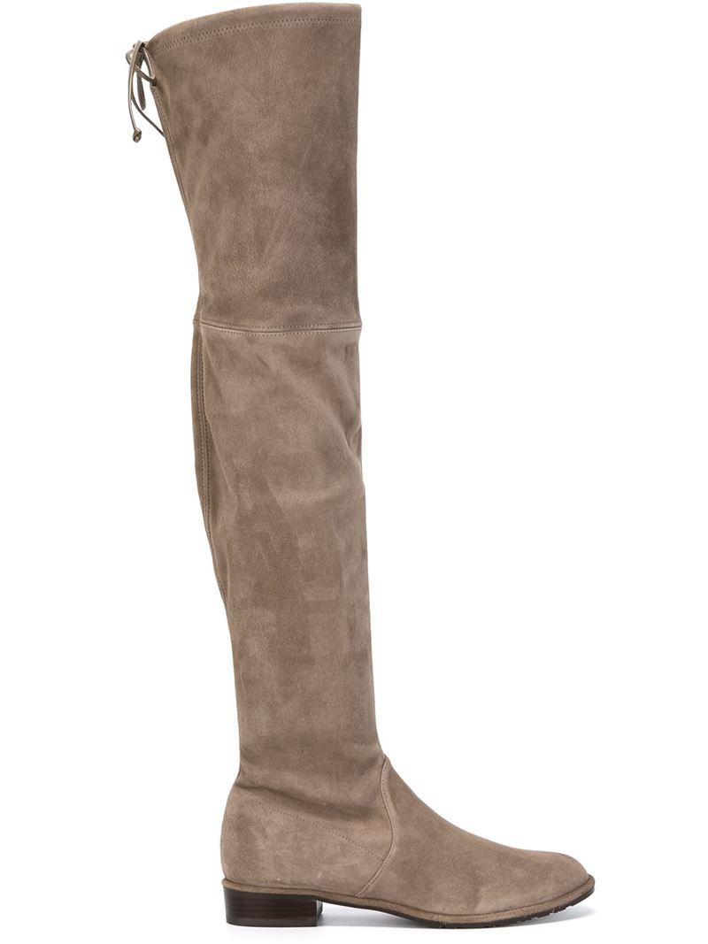 stuart weitzman thigh high boots in lyst