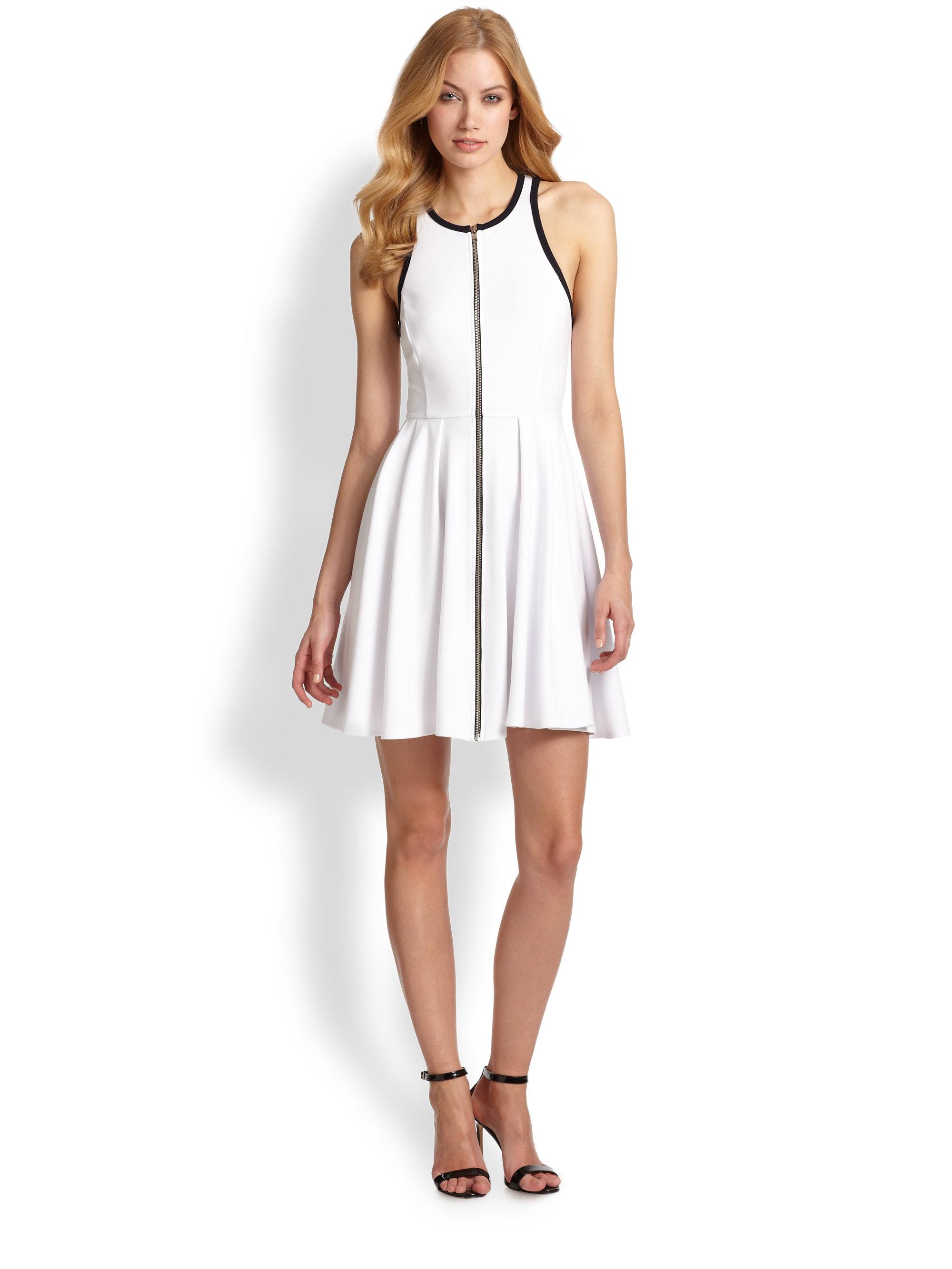 Racerback dress whites
