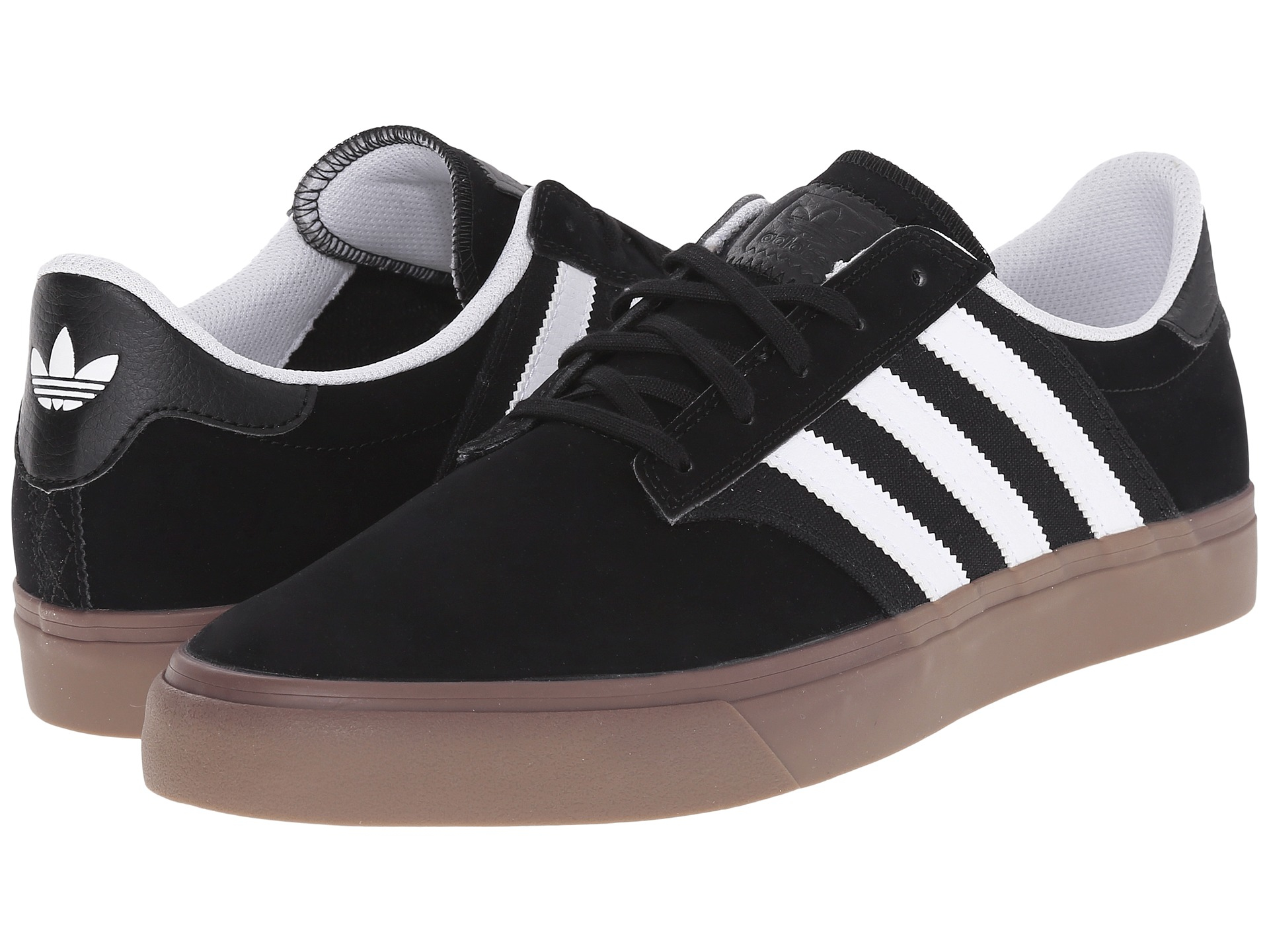 Adidas Seeley All Black Canvas Skate Shoe