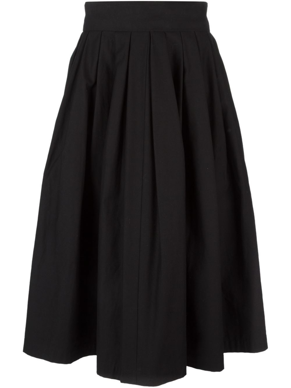 Perfect Zara Pleated Skirt In Black | Lyst