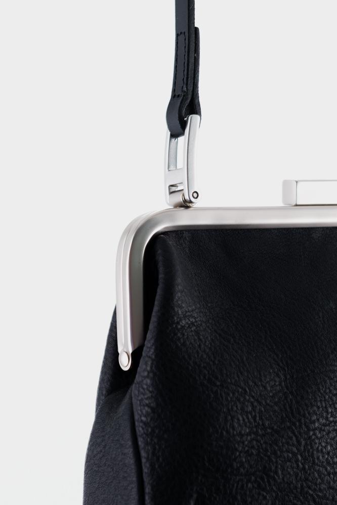 b9b1d600531d Ally Capellino Dusty Calvert Leather Mini Frame Bag - Black in Black ...