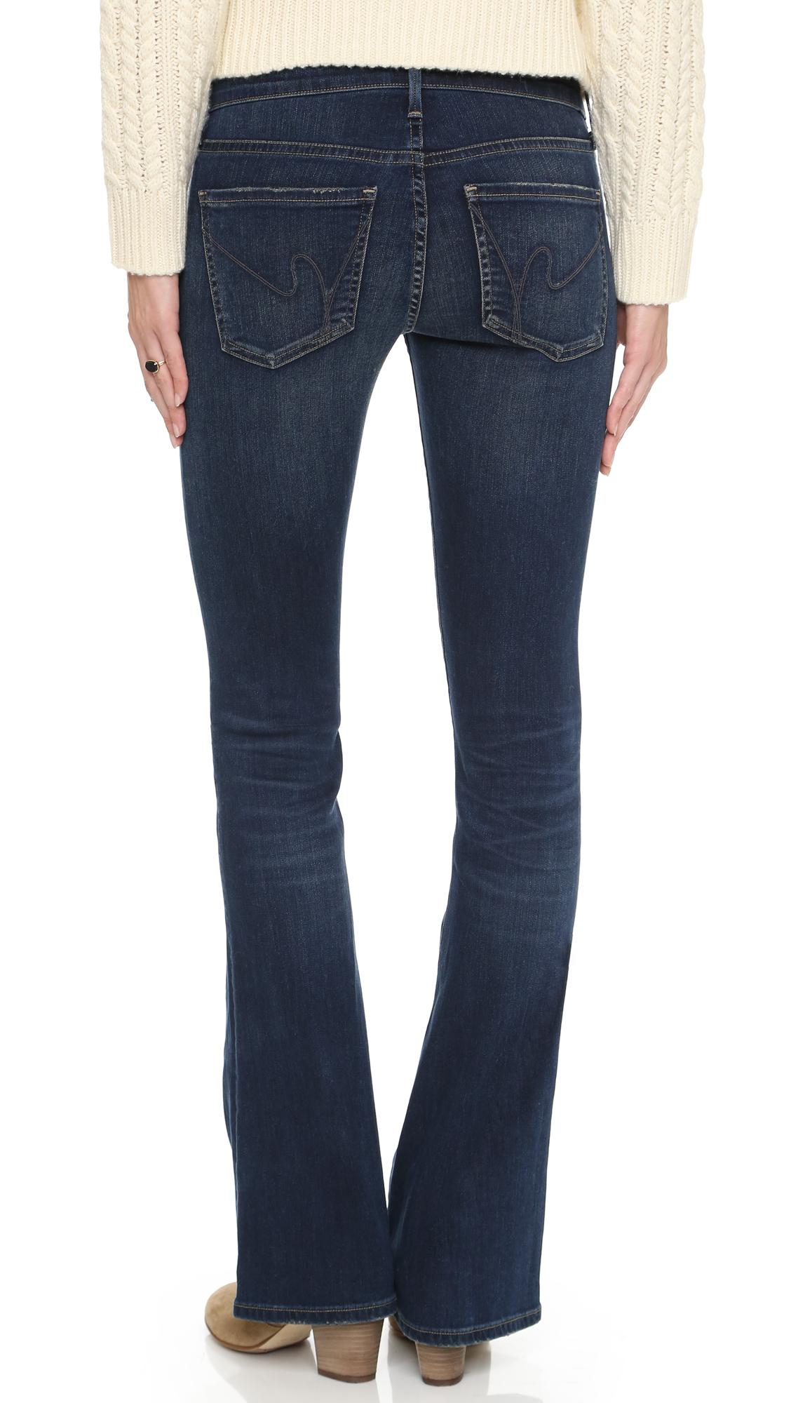 citizens of humanity emmanuelle slim boot cut jeans in. Black Bedroom Furniture Sets. Home Design Ideas