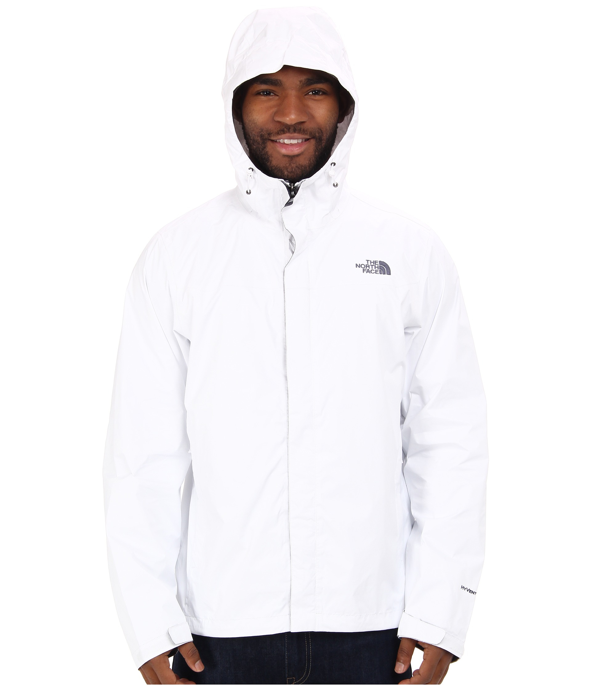 b251eb0c6063 ... Lyst - The North Face Venture Jacket in White for Men ...