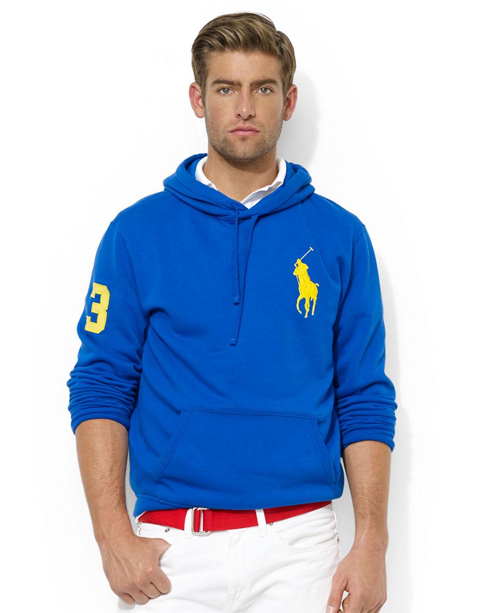 Men\\u0026#39;S Ralph Lauren Big Pony Fleece Pullover