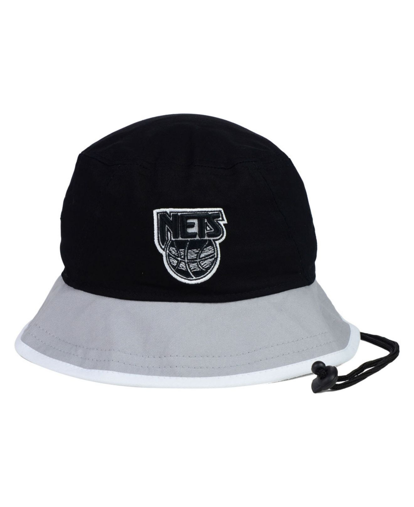 Lyst - KTZ New Jersey Nets Black-top Bucket Hat in Black for Men daa8f1d70753
