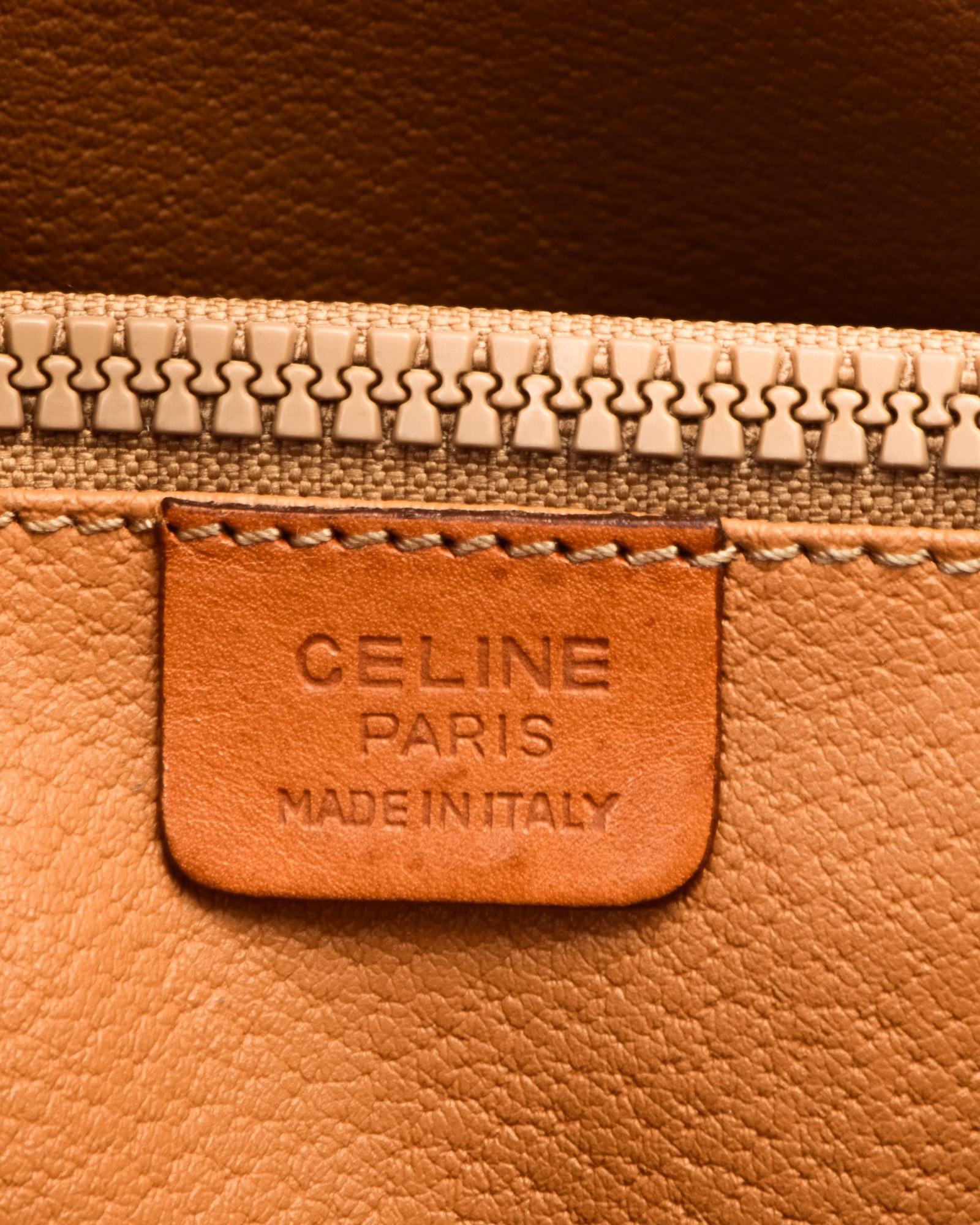celine micro vs mini - C��line C?��Line Brown Tote Bag - Vintage in Brown | Lyst