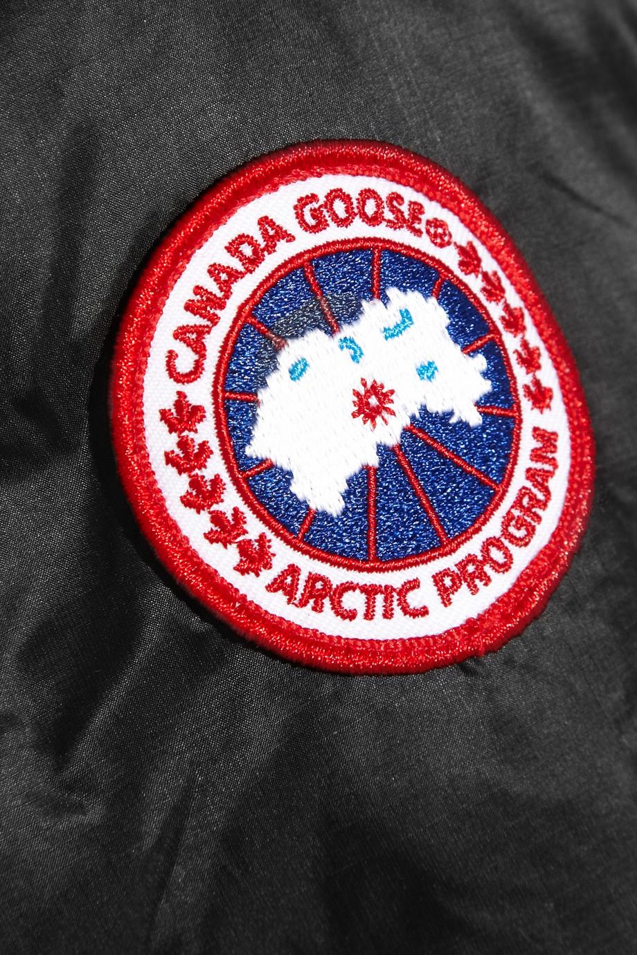 canada goose badge real vs fake