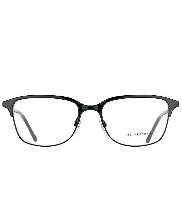 Burberry Glasses Frames 2015 : Burberry Be1250 1001 Black Rectangle Eyeglasses in Black ...
