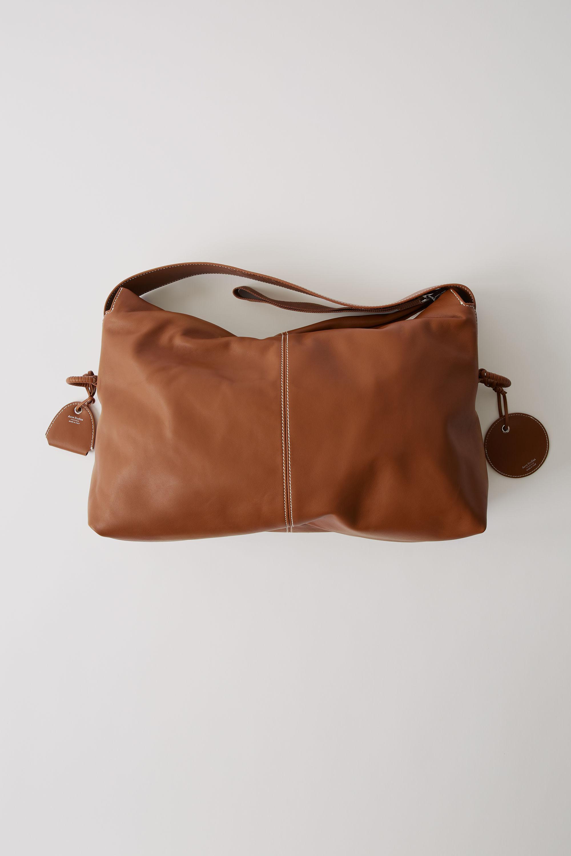 33bf79fb071f Acne Fn-wn-bags000014 Caramel Brown Minimal Handbag in Brown - Lyst