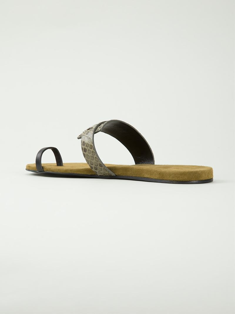 Carritz Python Slide Sandals clearance wholesale price pay with paypal for sale outlet wiki sale Cheapest countdown package cheap price X3jQf