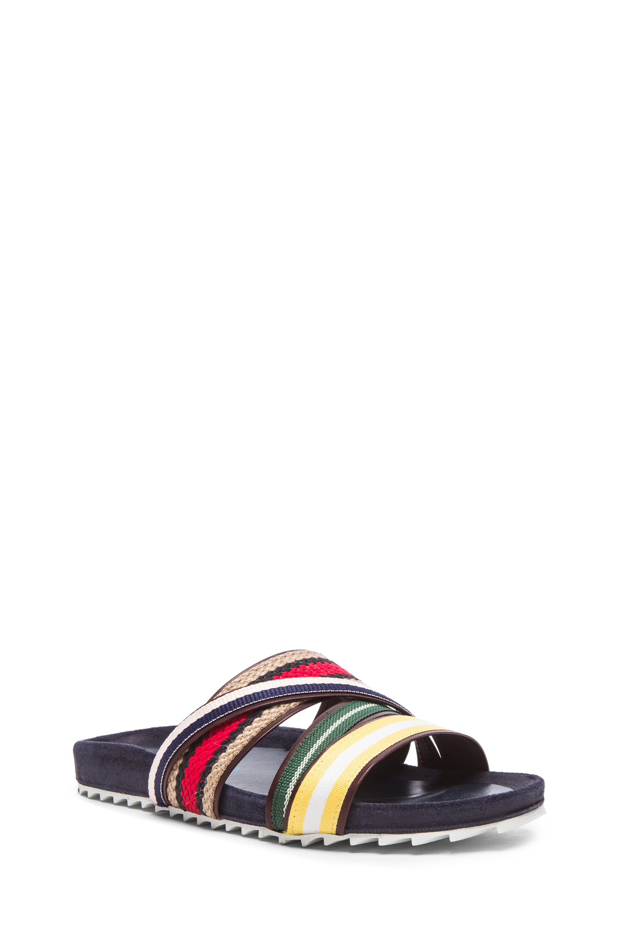 70b73634f1d0 Lyst - Band of Outsiders Strappy Shower Fabric Slides