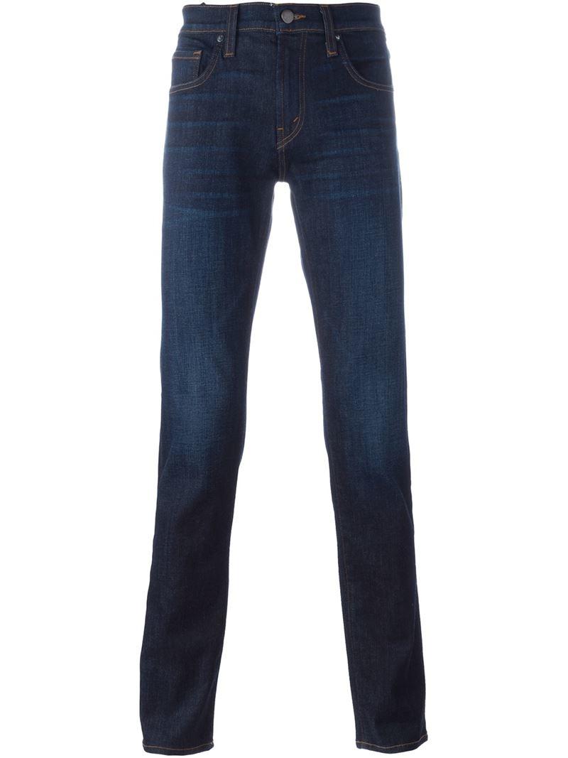 j brand slim fit jeans in blue for men lyst. Black Bedroom Furniture Sets. Home Design Ideas