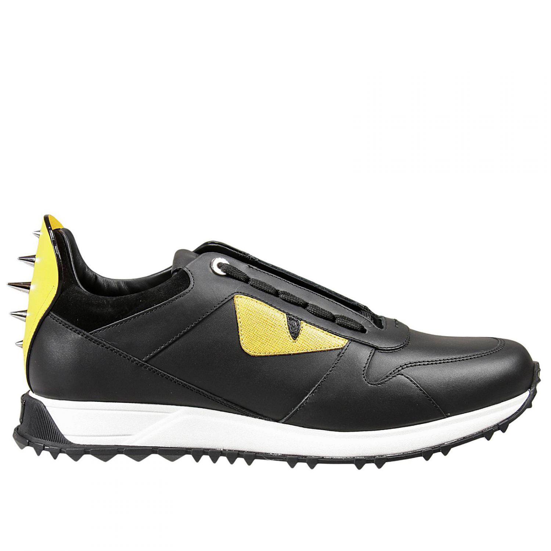fendi sneakers in black for lyst
