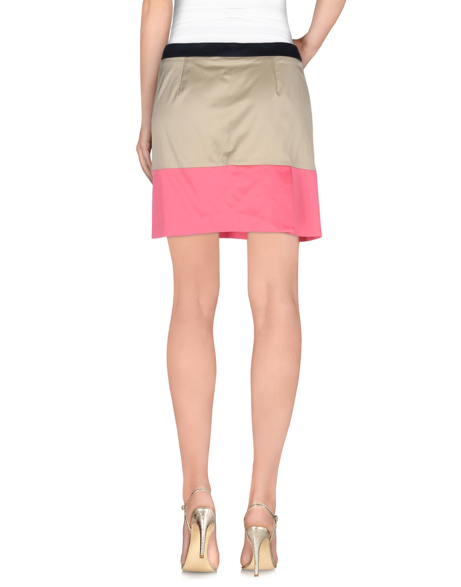 Love moschino Mini Skirt in Natural
