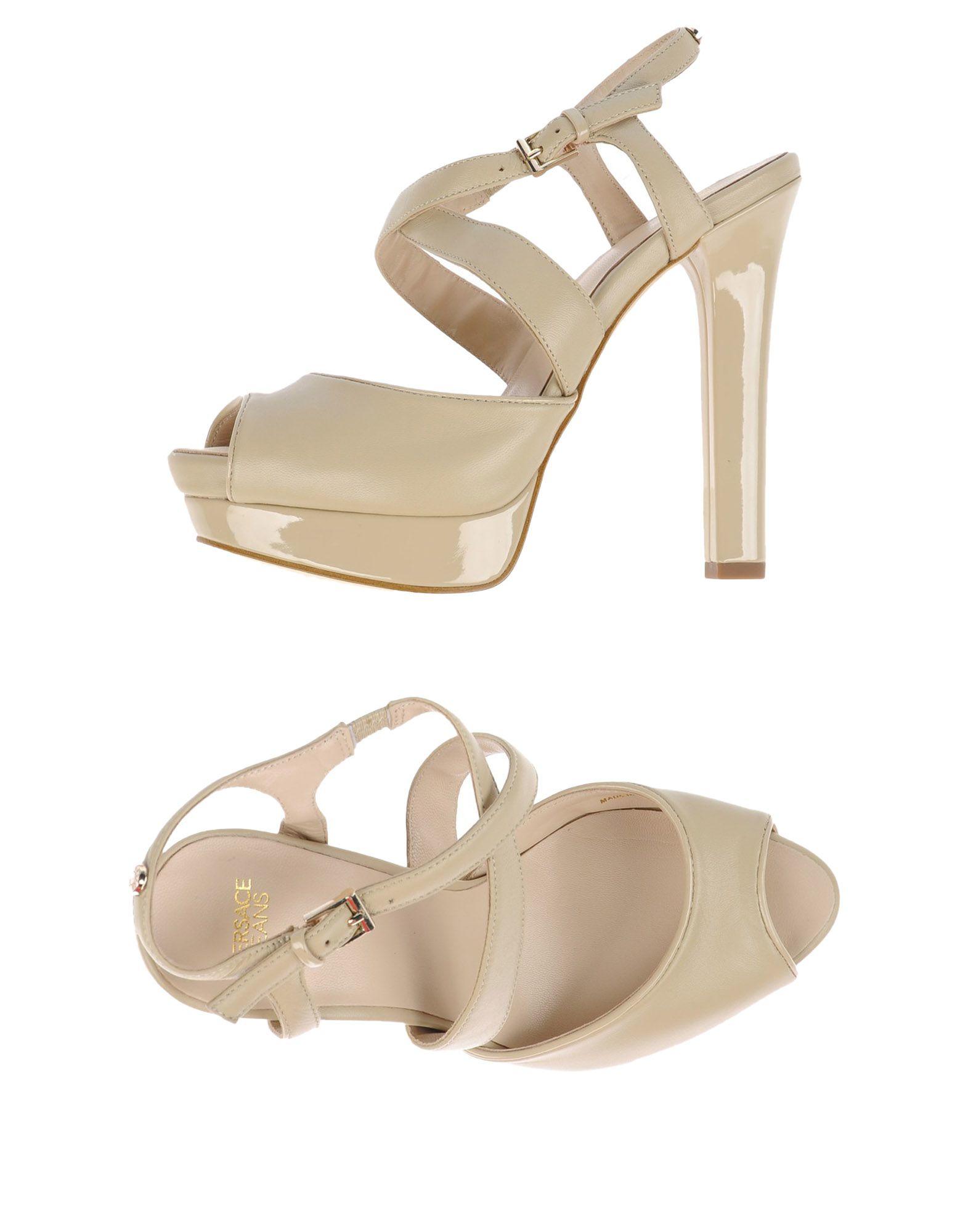 Elegant Versace Womens Wedge Sandals  Dofabshoes