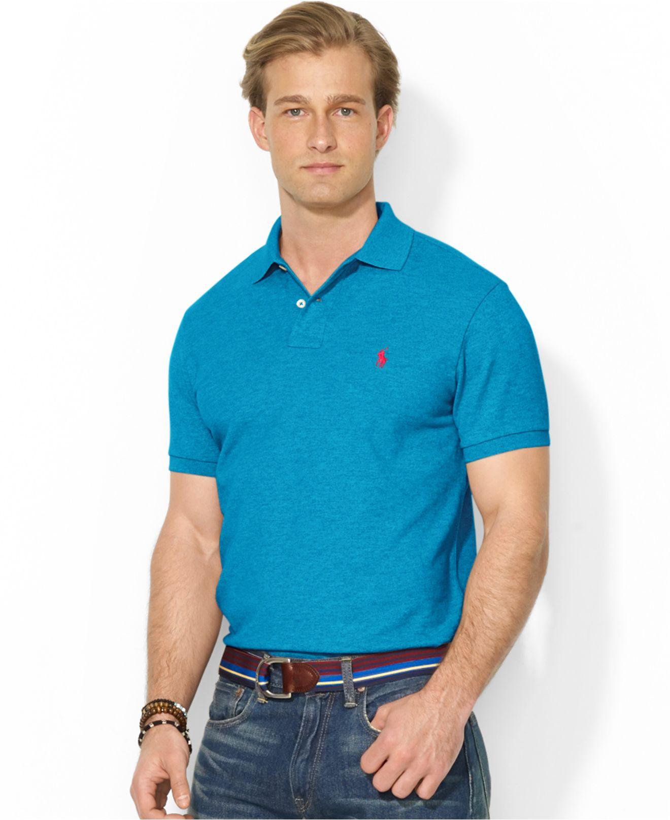 ralph lauren mesh polo shirt