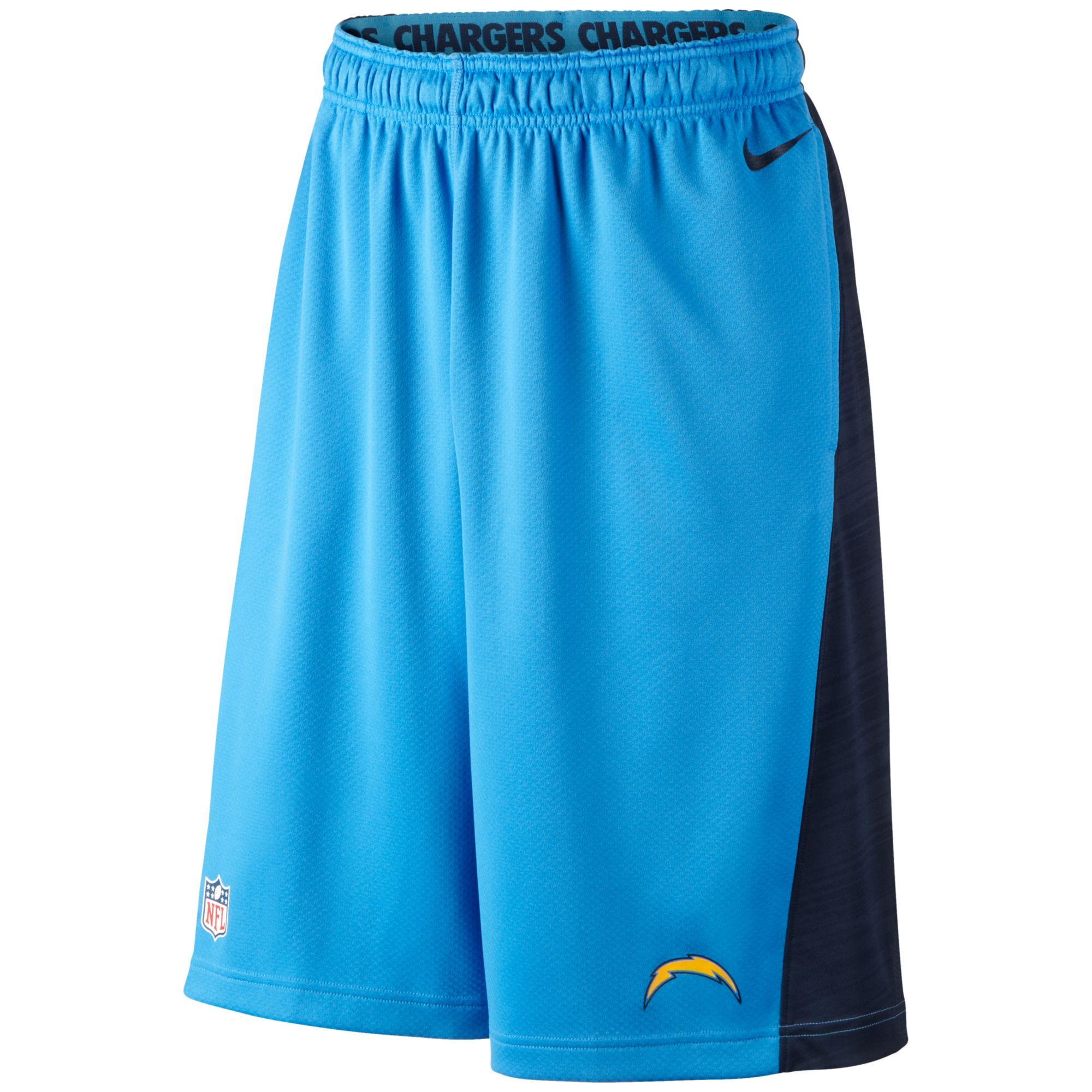 Nike Mens San Diego Chargers Fly Xl Drifit Shorts in Blue for Men ...