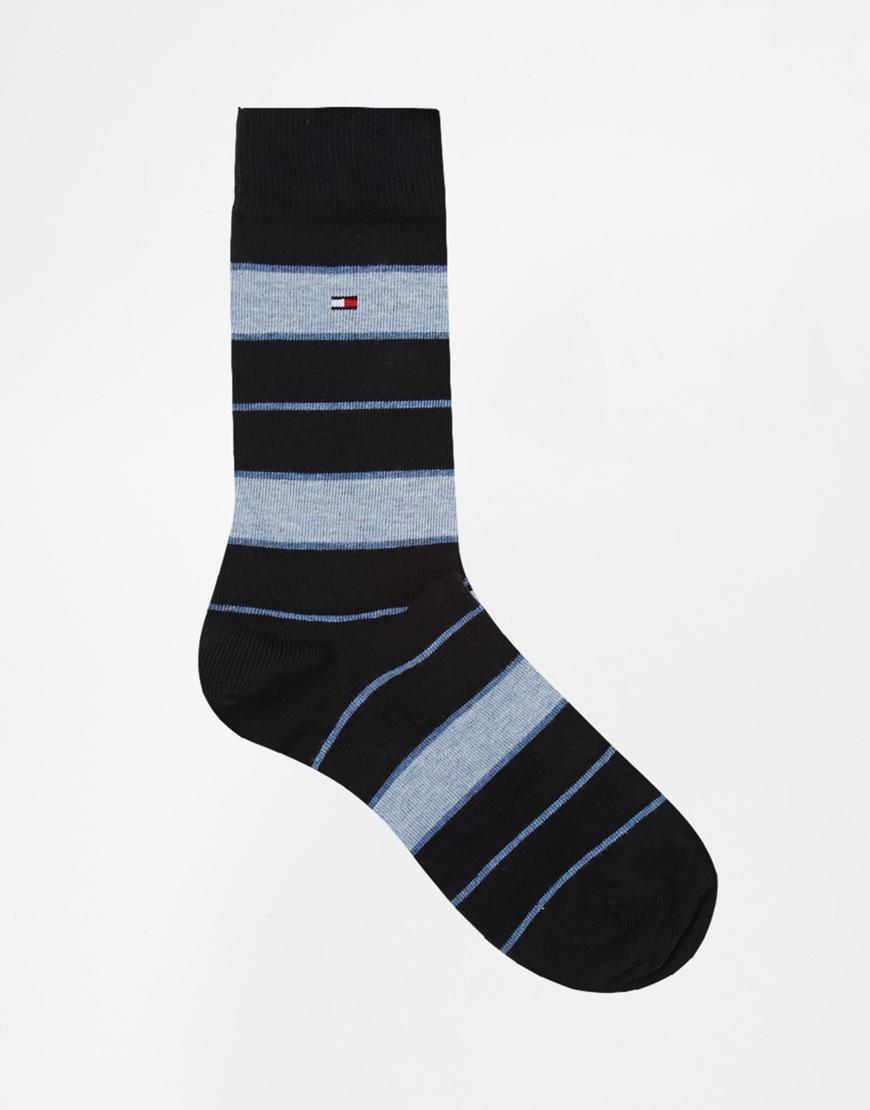 14a1344b Tommy Hilfiger 4 Pack Socks Gift Set in Blue for Men - Lyst