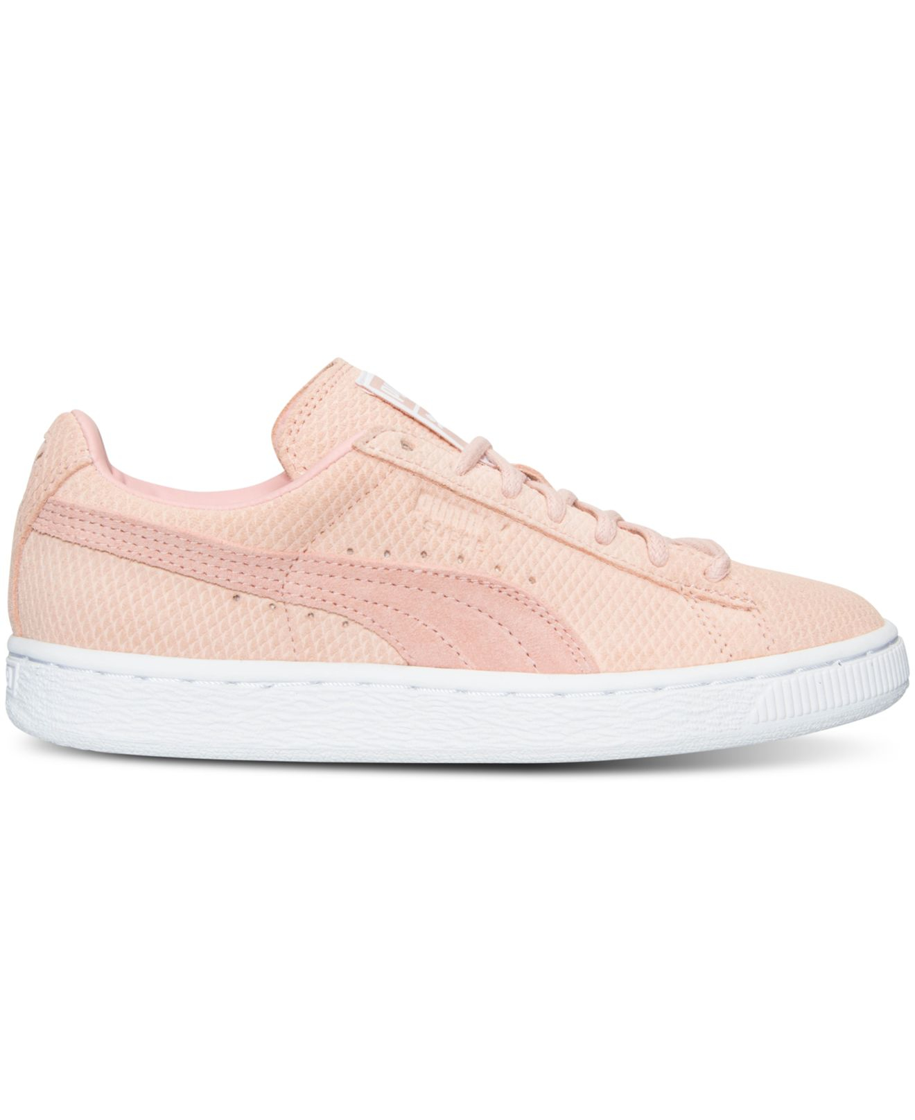 Lyst - PUMA Women s Suede Classic Winterized Lo Casual Sneakers From ... 89a46847c