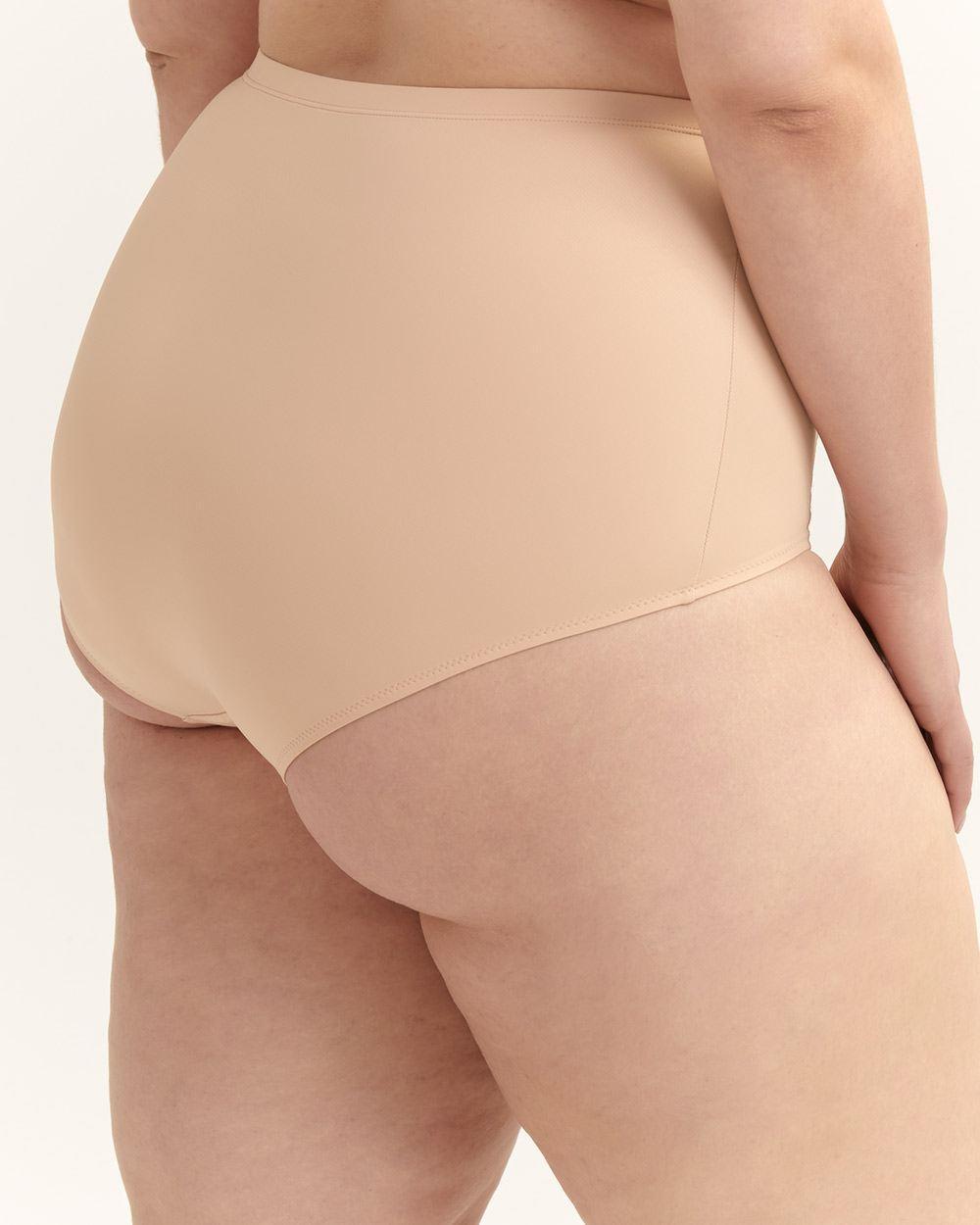 443cbfedb4f Lyst - Addition Elle High Cut Brief Panty - Ti Voglio in Natural