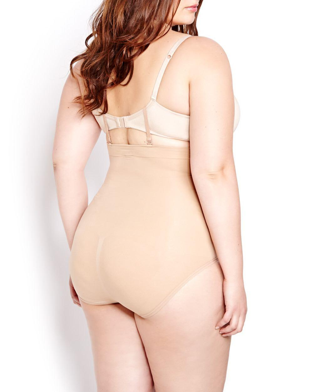 c96599f7fbce Lyst - Addition Elle Body Wrap High Waist Brief Panty in Natural