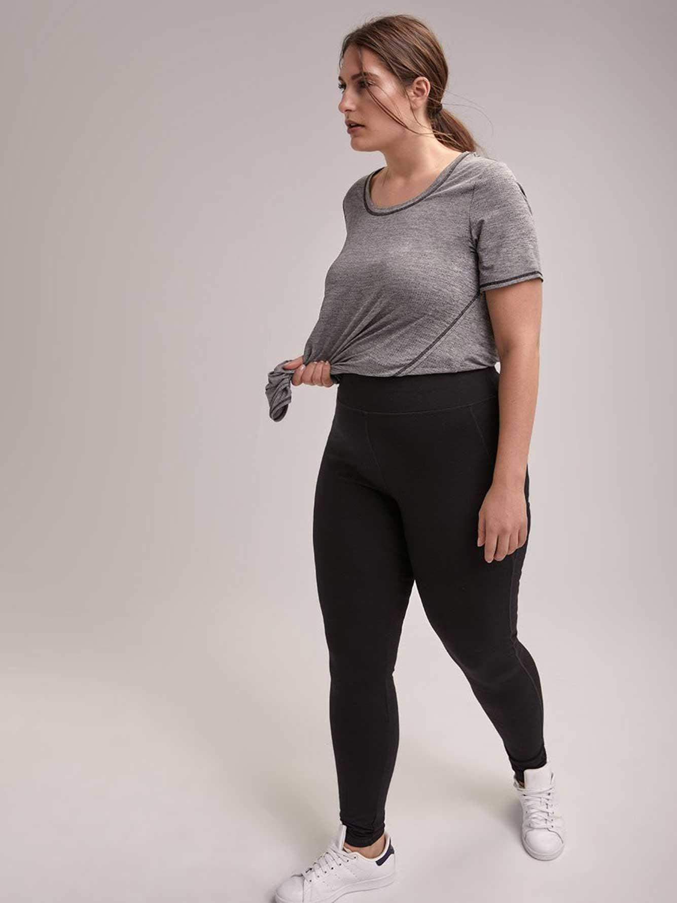 63f9aee1599e5d Addition Elle Online Only - Tall Plus-size Basic Legging ...