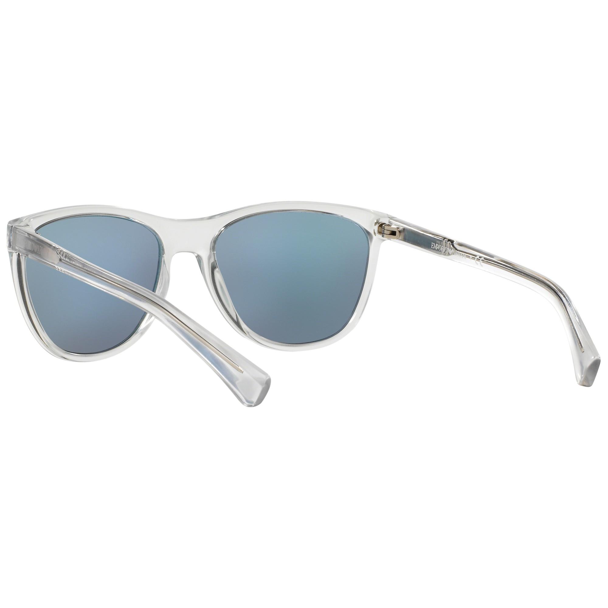 8fc1d052cf Emporio Armani Ea4053 Square Framed Sunglasses - Lyst