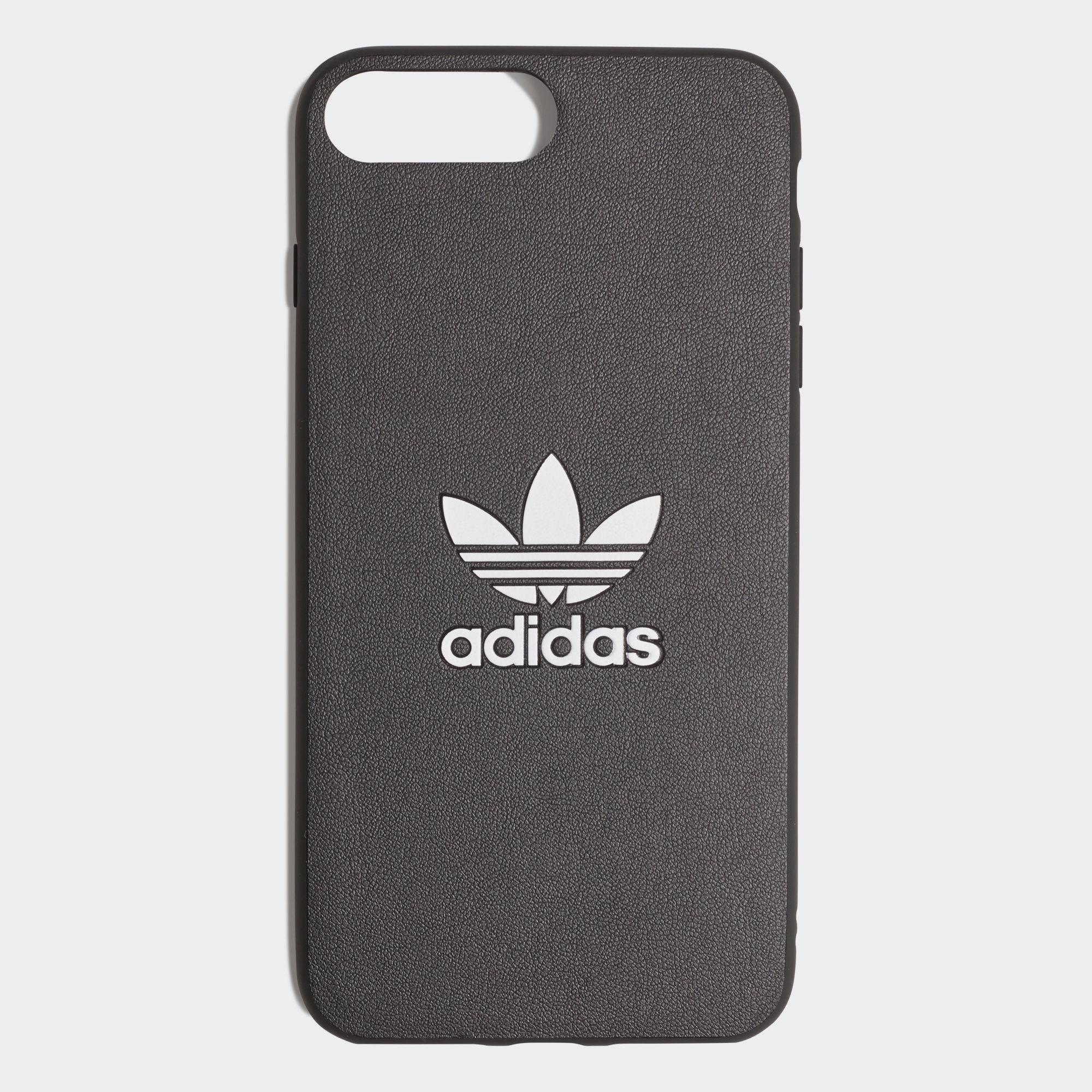 huge discount 51902 d82a0 adidas Basic Logo Case Iphone 8+ in Black - Lyst