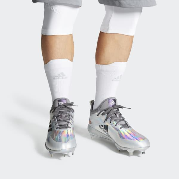 timeless design 4e71d a04e0 Lyst - adidas Adizero Afterburner V X Topps Cleats in Metall