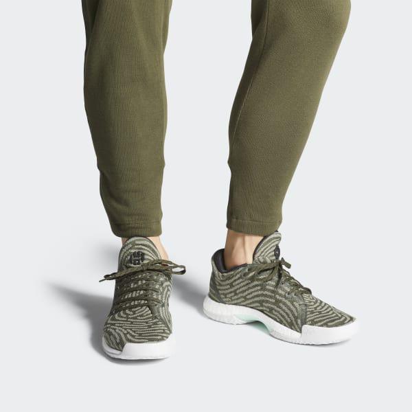 3edc2ec49be Lyst - adidas Harden Vol. 1 Ls Primeknit Shoes in Green for Men