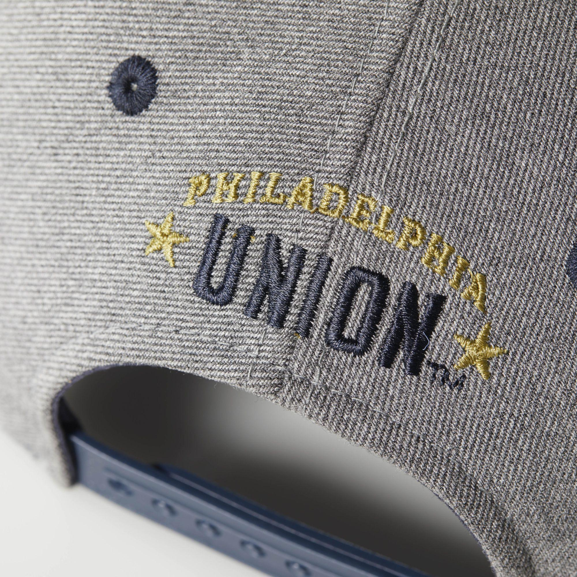 reputable site 59c29 a2b57 adidas Philadelphia Union Structured Hat in Gray for Men - Lyst