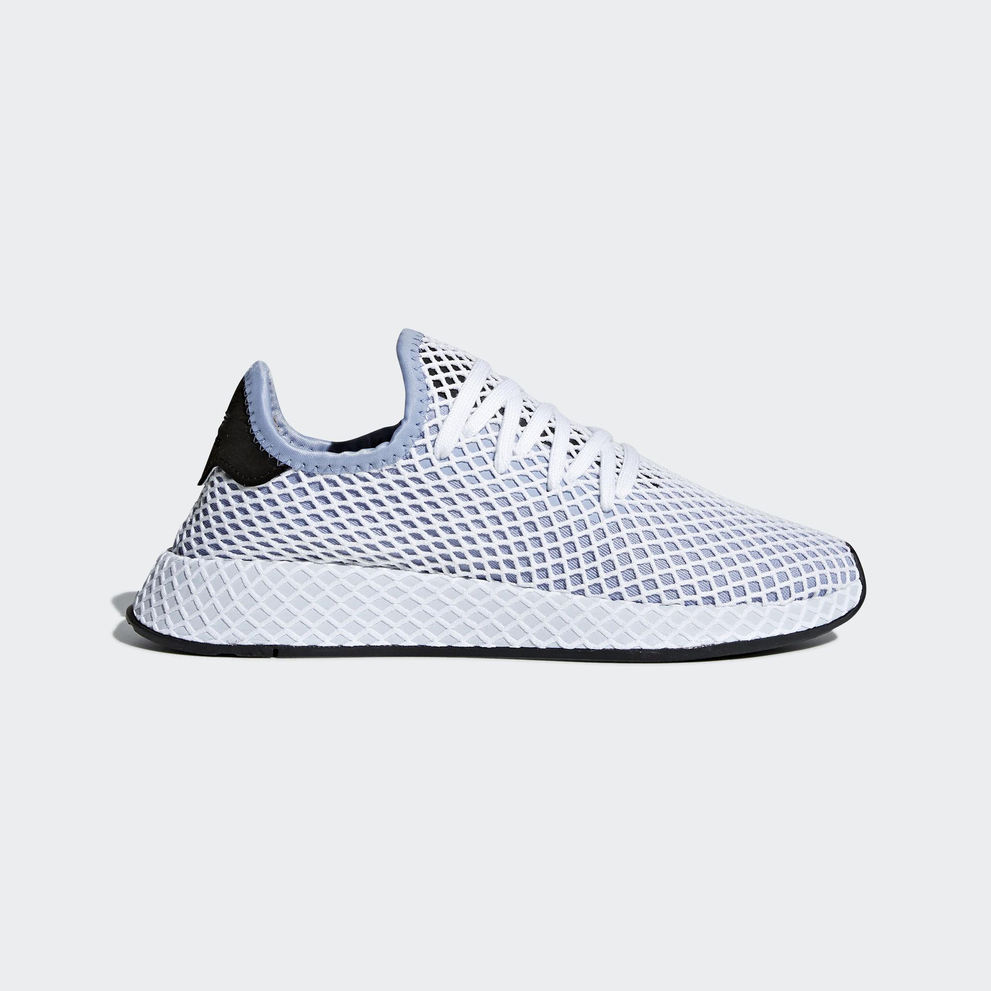 purchase cheap 86b9c 1d88a adidas. Womens Blue Deerupt Runner Shoes