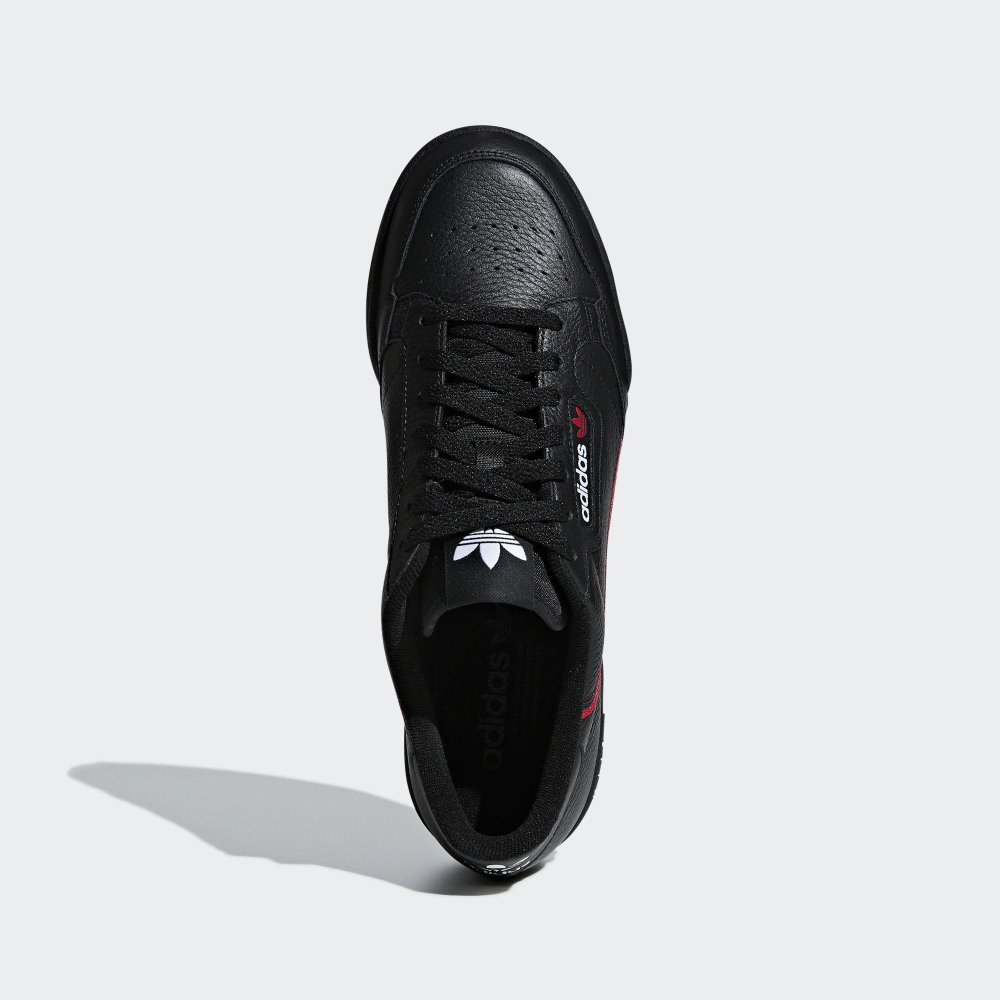 official photos 6d89b 7bc4d Adidas Originals - Adidas Continental 80 Core Black  Scarlet  Collegiate  Navy for Men -. View fullscreen