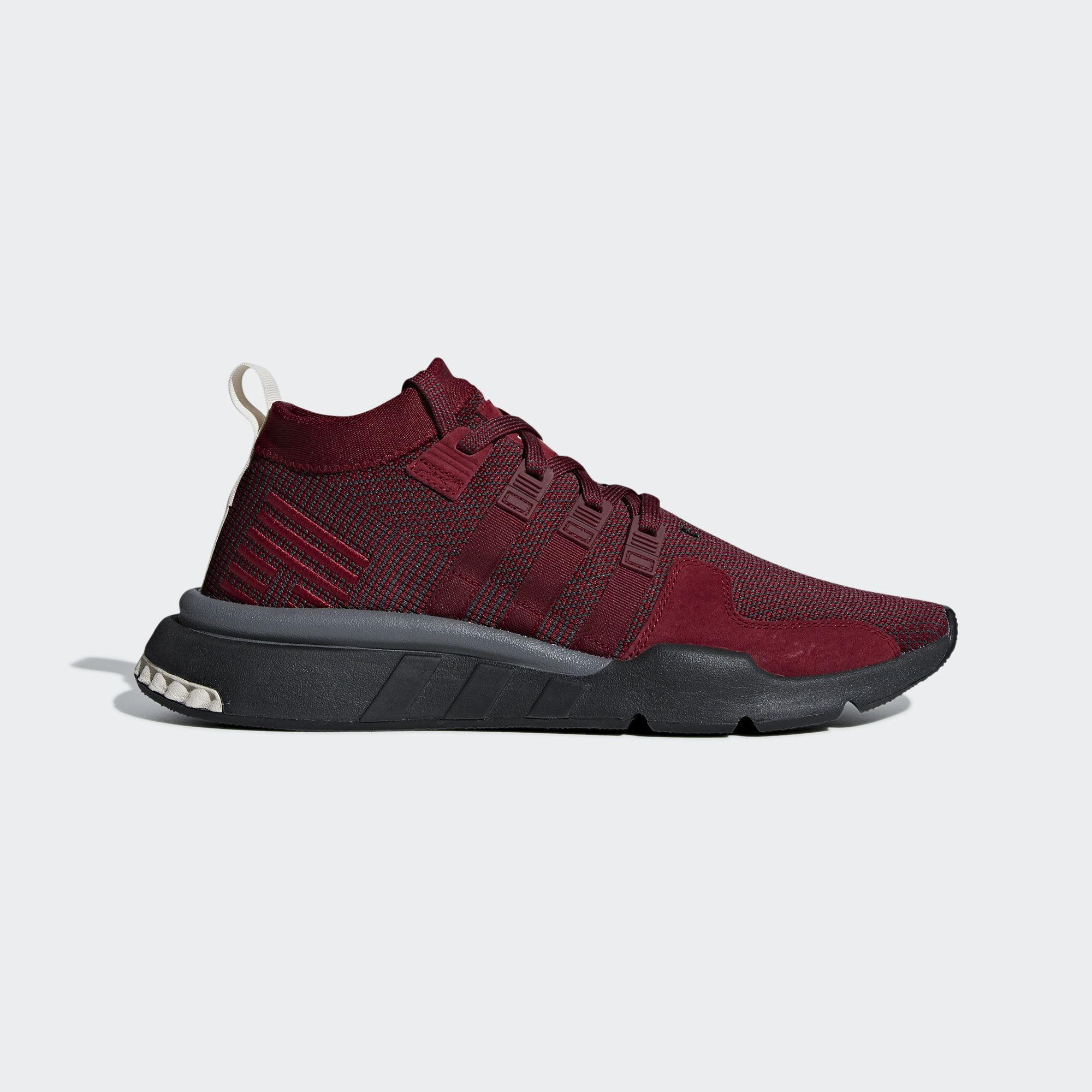 4eff6e4d0550 adidas Eqt Support Mid Adv Shoes in Red - Lyst