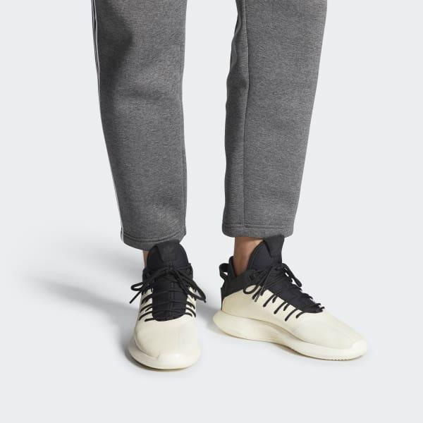 buy popular a56be 13a31 Adidas - White Crazy 1 Adv Leather Shoes for Men - Lyst. View fullscreen