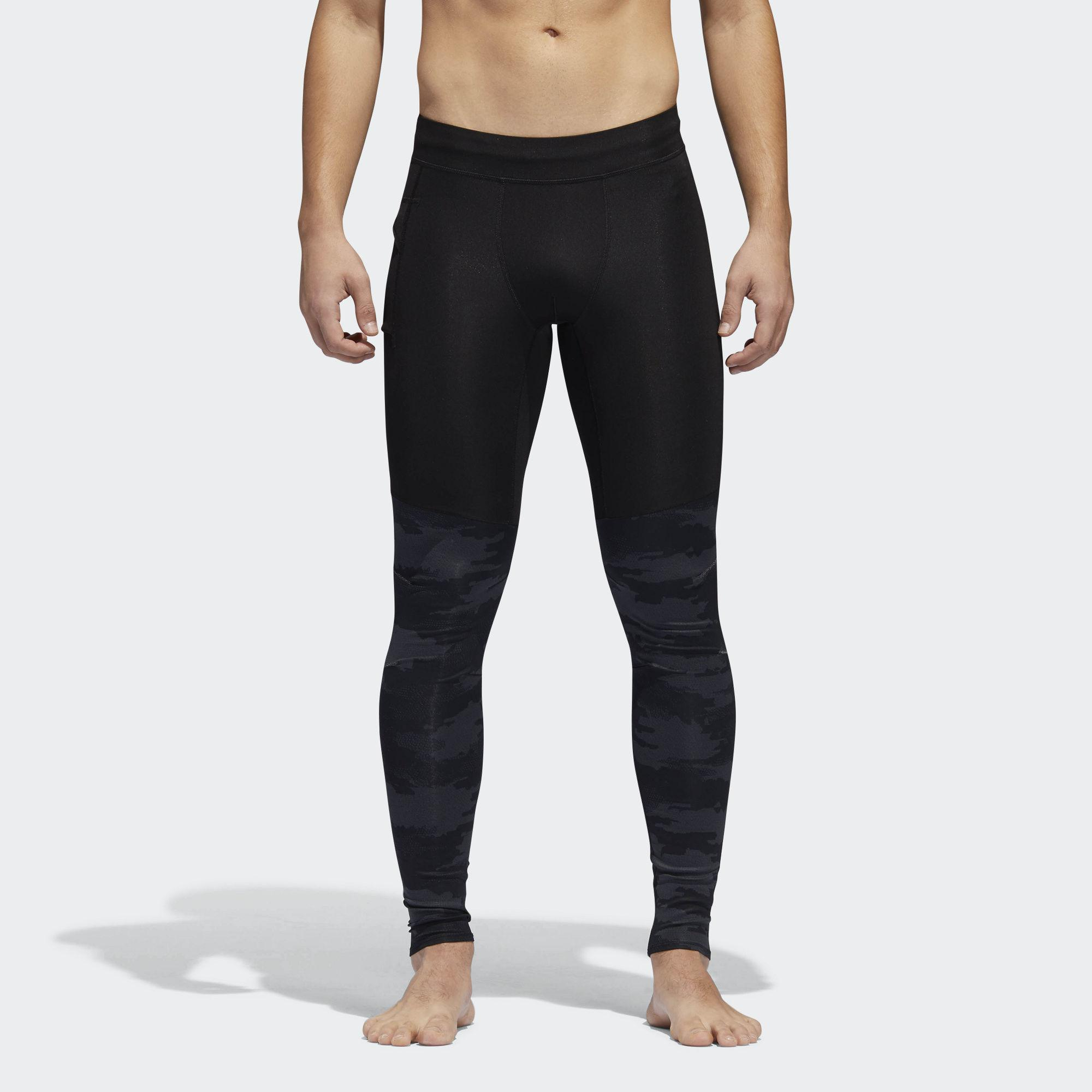 012aab777633e Lyst - adidas Supernova Tko Graphic Tights in Black for Men