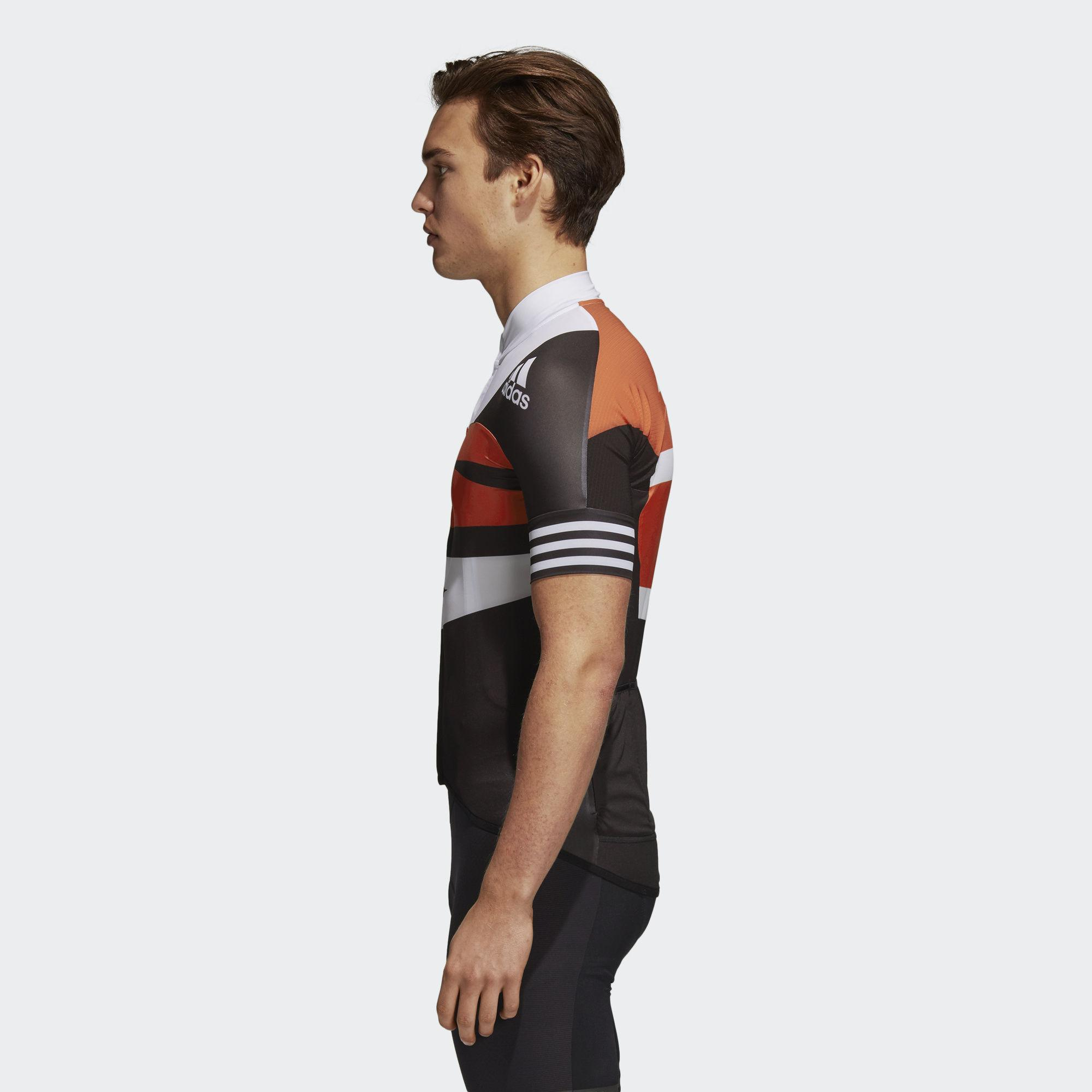 Adidas - Multicolor Adistar Graphic Cycling Jersey for Men - Lyst. View  fullscreen f51e39178