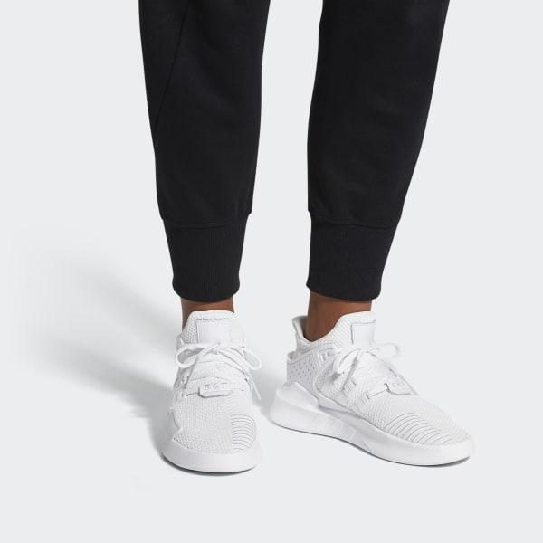low priced f6c0c bc50a Lyst - adidas Eqt Bask Adv Shoes in White for Men